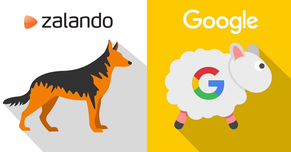 Zalando pitää Google pilkkannan hakukonenäkyvyydessä