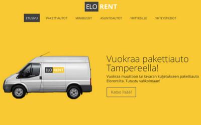 Elorent pakettiautojen vuokraus Tampereella